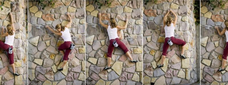 Jen Rock Climb - Rockridge